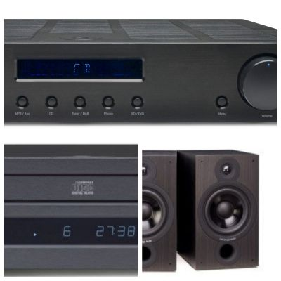 Cambridge AM-10 - CD-10 - SX-60